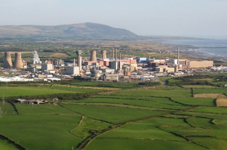 Sellafield aerial view
