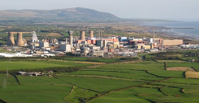 Sellafield aerial view