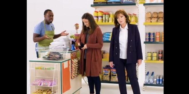 UNISON video still starring Stephanie Beacham