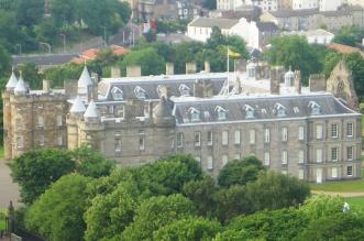 Holyrood Scottish Parliament building