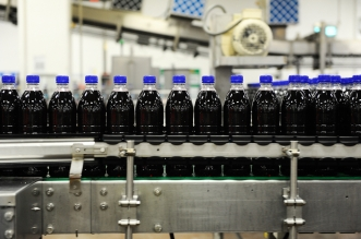 Britvic factory production line