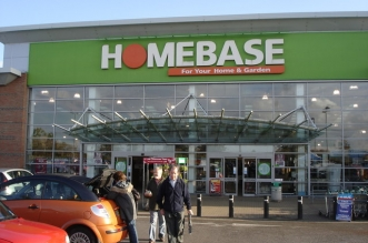 Homebase store exterior