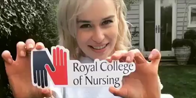Emilia Clarke Royal College of Nursing