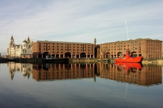 Liverpool dock area