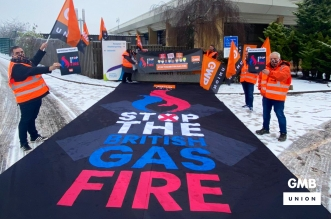 GMB British Gas strike