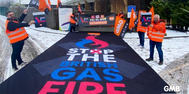 GMB British Gas strike