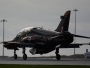 Hawk trainer jet at RAF Leeming